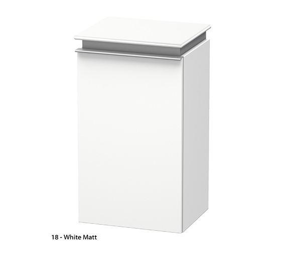 Additional image of Duravit Darling New Right Hand Door Semi-Tall Cabinet
