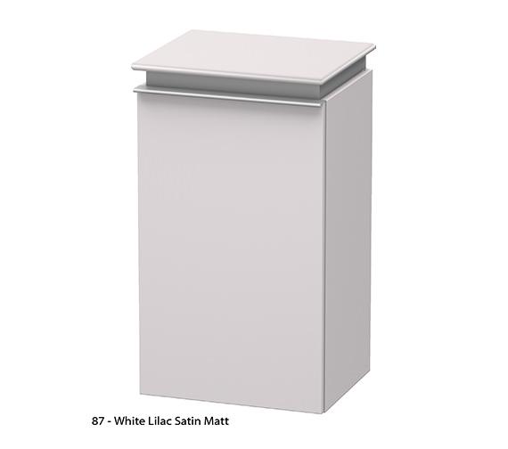 Alternate image of Duravit Darling New Right Hand Door Semi-Tall Cabinet