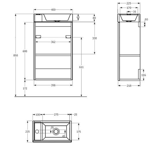 Technical drawing QS-V29714 / QU2211