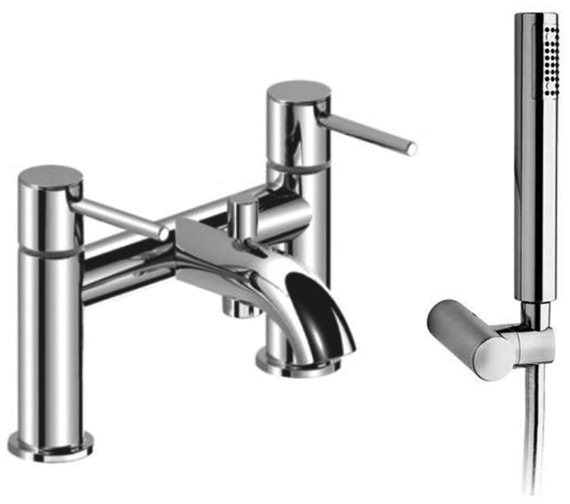 Saneux Cos Deck Mounted Bath Shower Mixer Tap With Kit