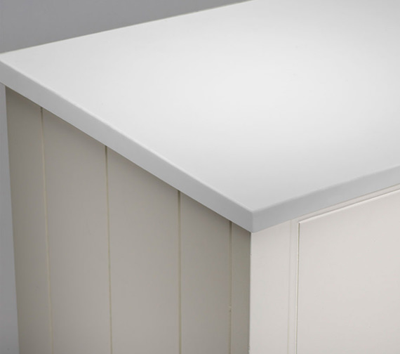 Additional image of Roper Rhodes Hampton 600mm Underslung Worktop Arctic White