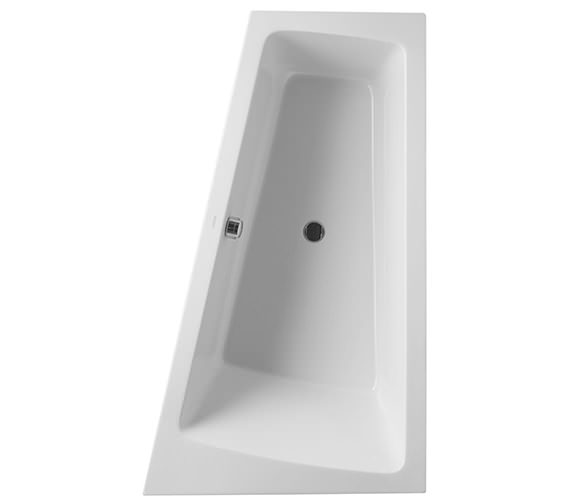 Duravit Paiova 1700 x 1000mm Right-Left Backrest Slope Bath With Frame