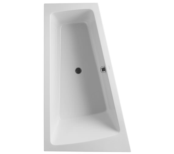Duravit Paiova 1700 x 1000mm Built In Bath With Left Slope