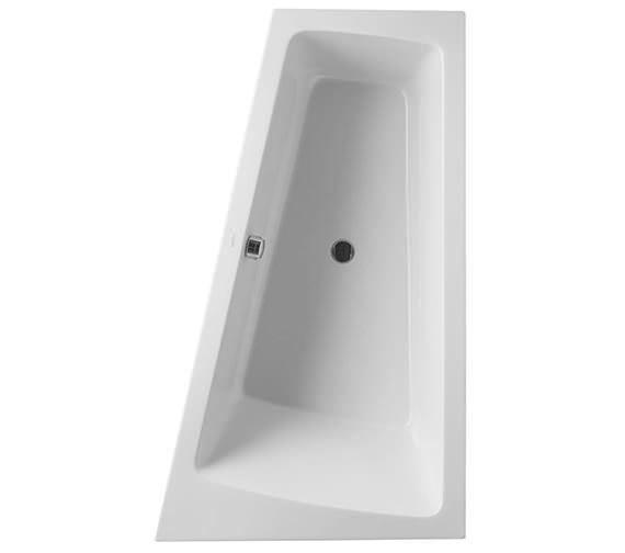 Duravit Paiova 1700 x 1000mm Right-Left Backrest Slope Bath