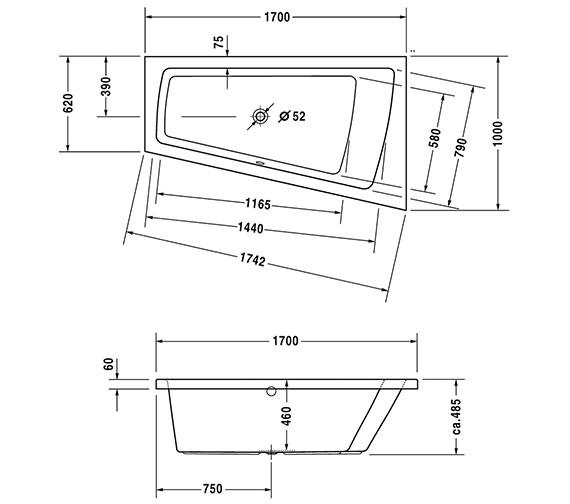 Technical drawing QS-V43698 / 700213000000000
