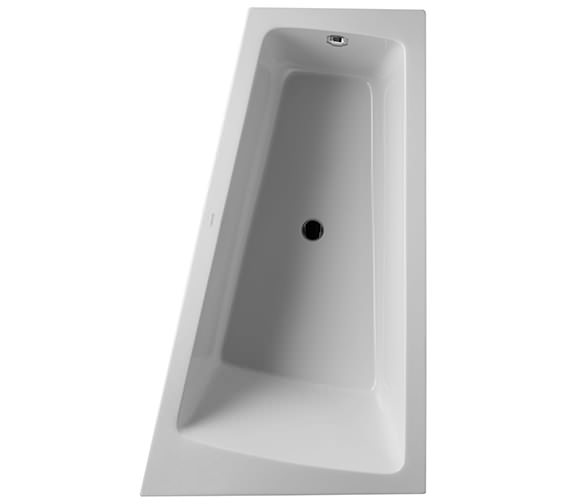 Duravit Paiova 1700 x 1000mm Right Backrest Slope Bath With Panel And Frame