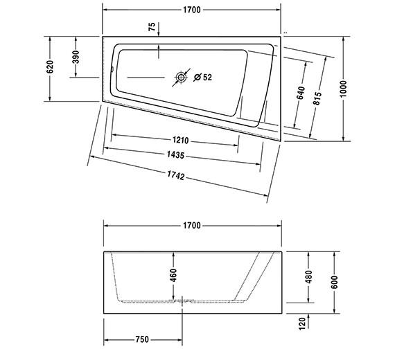 Technical drawing QS-V21138 / 700265000000000