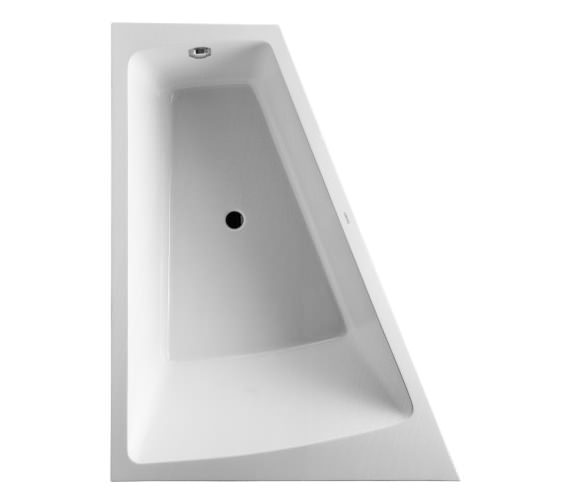 Duravit Paiova 1700 x 1300mm Left Backrest Slope Bath With Panel And Frame