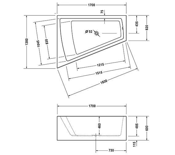 Additional image for QS-V21141 Duravit - 700267000000000