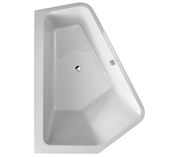 Additional image of Duravit Paiova 1900 x 1400mm Right-Left 5 Corner Bath With Panel