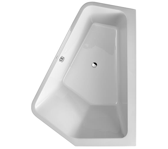 Duravit Paiova 1900 x 1400mm 5 Corner Right Bath With Panel