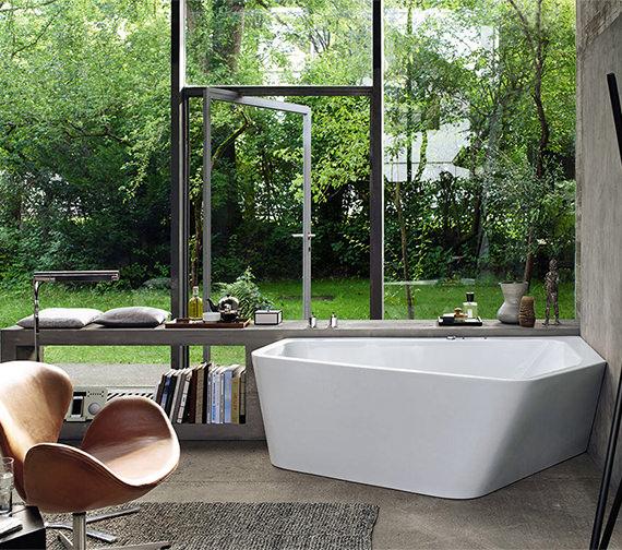 Duravit Paiova 1900 x 1400mm Right-Left 5 Corner Bath With Panel