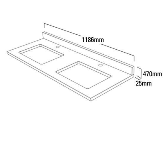 Technical drawing QS-V4767 / HAM4W12AUS.AR
