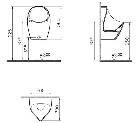 Technical drawing QS-V90472 / 5419B603-0205