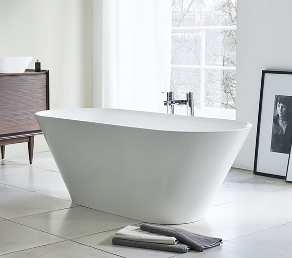 Clearwater Sontuoso Clearstone Freestanding Bath 1690 x 700mm