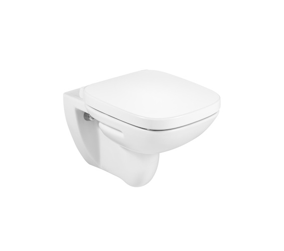 Roca debba rimless wall hung wc pan 540mm projection for Wc debba roca