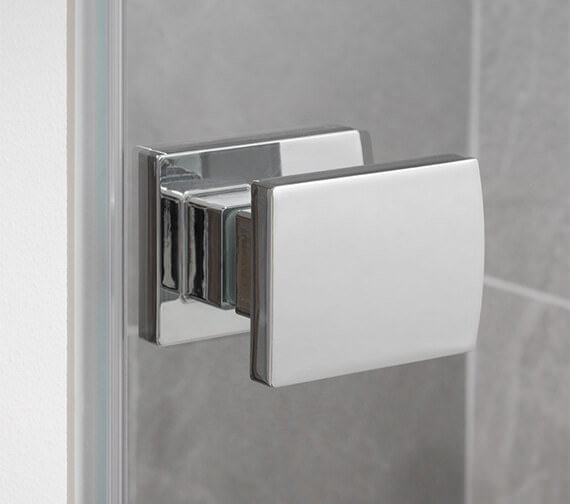 Alternate image of Lakes Island Barbados 750 x 2000mm Frame-less Hinge Shower Door