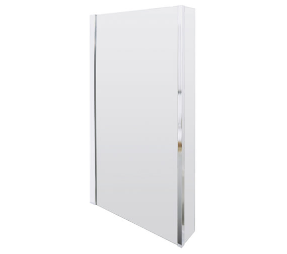 Lauren Quattro 805 x 1400mm Screen For Square Shower Bath