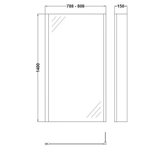 Technical drawing QS-V60419 / NSBS2
