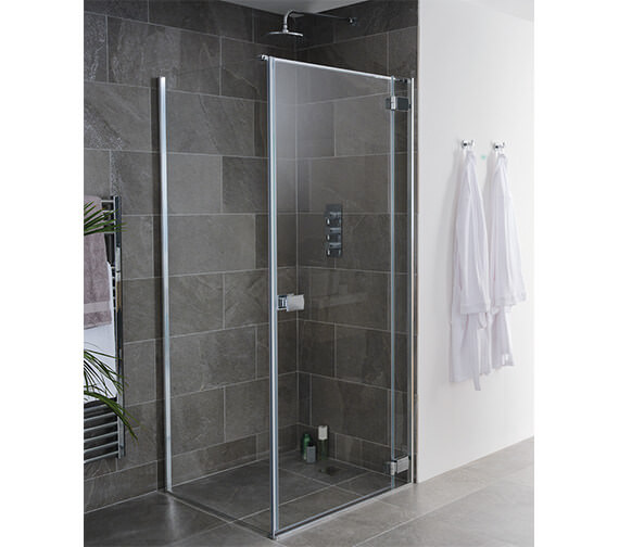 Lakes Island Grenada 2000mm High Frame-less Hinge Shower Door