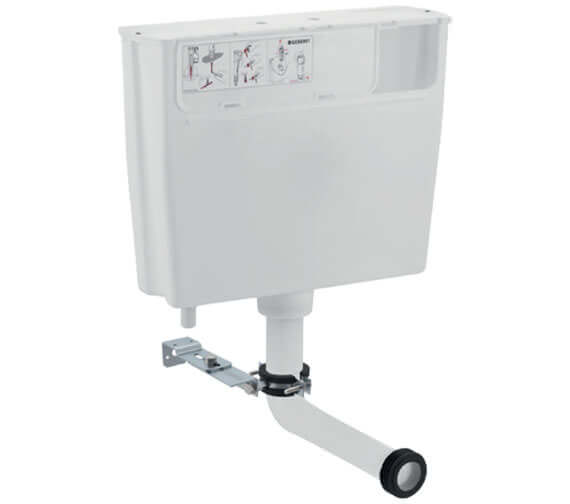 Geberit 464 x 355mm Low-Height Furniture Cistern With Pneumatic Actuation