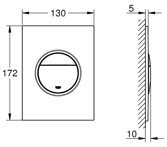 Technical drawing QS-V80673 / 37624000