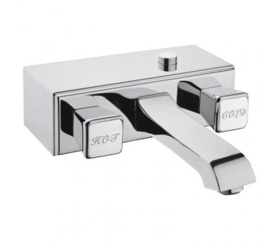 VitrA Elegance Wall Mounted Bath Shower Mixer Tap Chrome