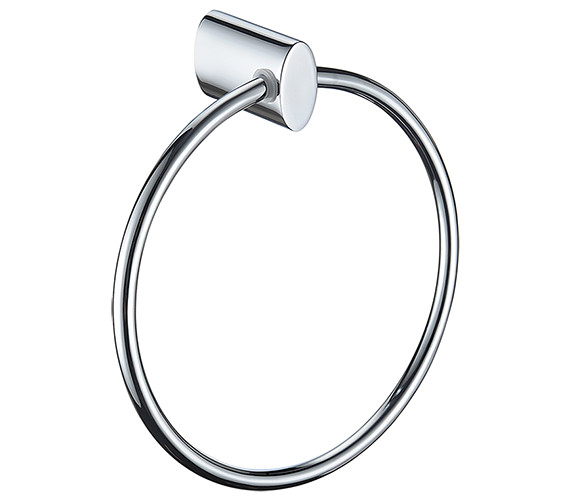 Bristan Oval Chrome Towel Ring