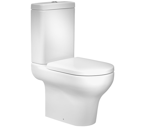 Roper Rhodes Note Close Coupled WC With Cistern And Seat White