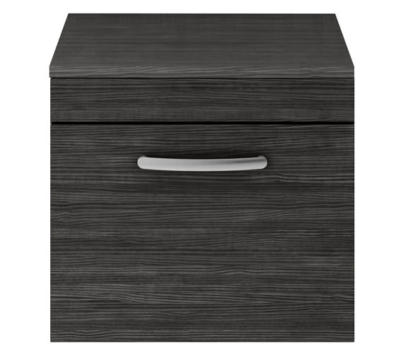 Alternate image of Premier Athena 500mm Single Drawer Wall Hung Cabinet With Worktop Gloss White