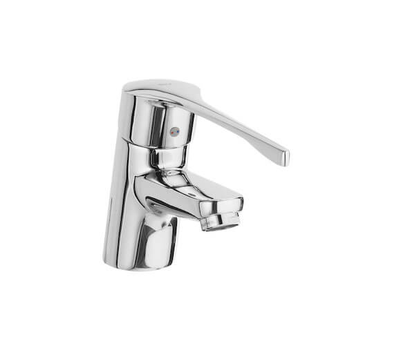 Roca Victoria Pro Basin Mixer Tap With Chain Connector