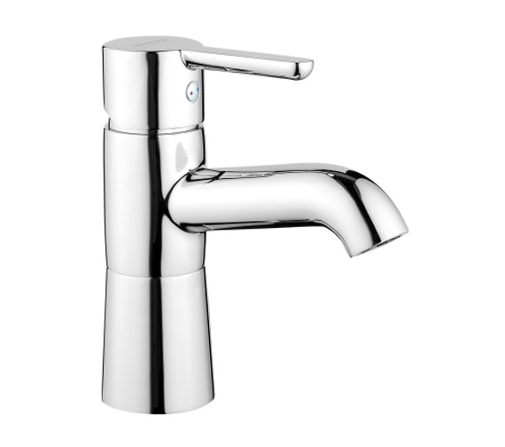 VitrA Matrix Deck Mounted Basin Mixer Tap Chrome