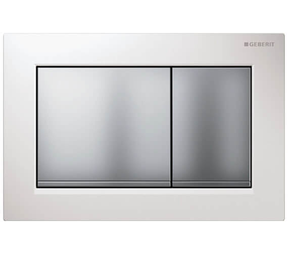 Additional image of Geberit Omega30 212 x 142mm Dual Flush Plate