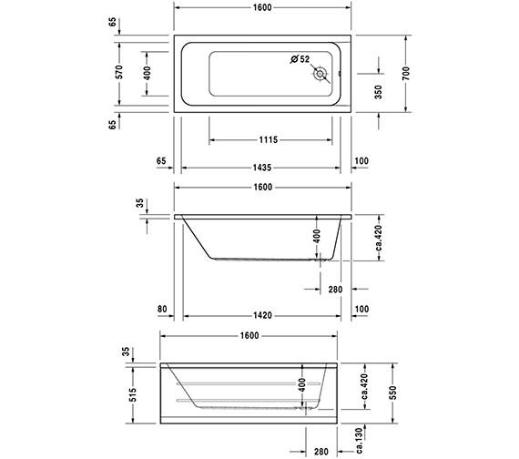 Technical drawing QS-V6452 / 700096000000000