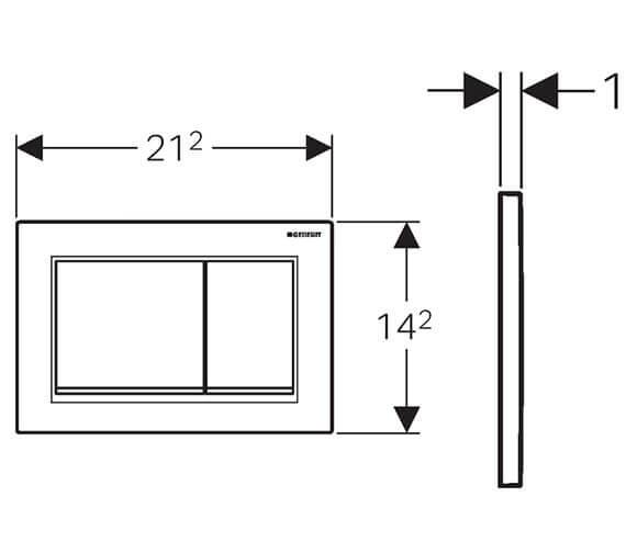 Technical drawing QS-V93528 / 115.080.KJ.1