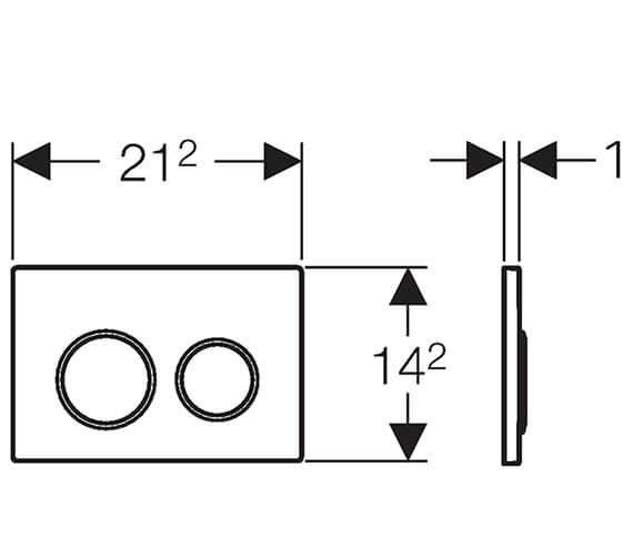 Technical drawing QS-V93532 / 115.085.KJ.1