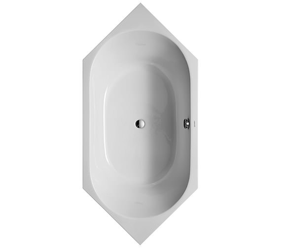 Duravit D-Code 1900 x 900mm Built-In Bathtub With Support Feet