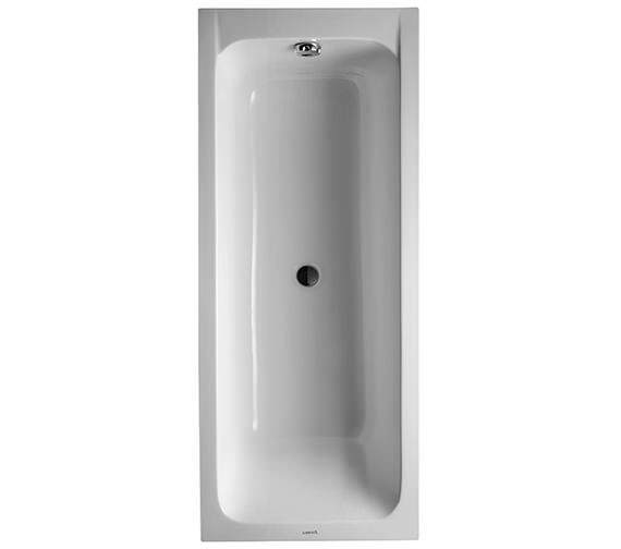 Duravit D-Code 1700 x 700mm Built-In Bathtub With Support Feet - Central Outlet