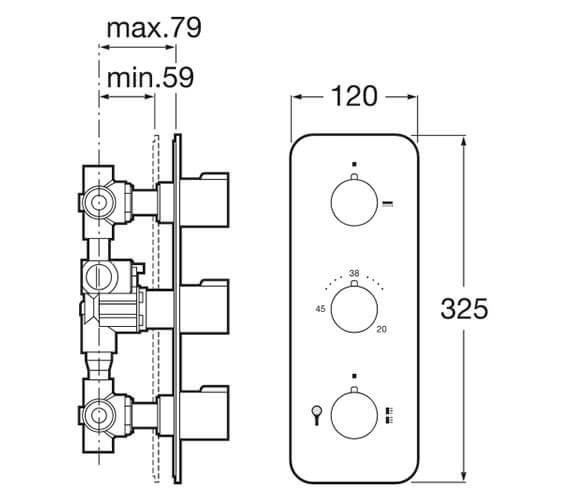 Technical drawing QS-V92021 / 5A2778C00