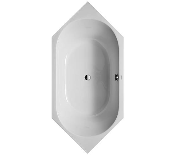 Duravit D-Code 1900 x 900mm Built-In Bathtub Without Feet