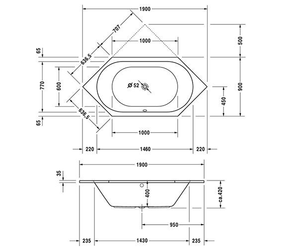 Technical drawing QS-V6457 / 700138000000000
