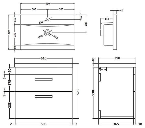 Technical drawing QS-V42357 / ATH043A