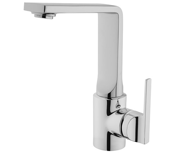 VitrA Suit L Swivel Spout Basin Mixer Tap Chrome