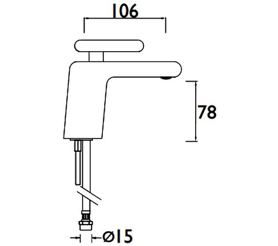 Technical drawing QS-V88331 / MPIV BAS CR
