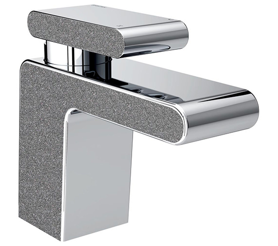 Additional image of Bristan Metallix Pivot Basin Mixer Tap With Clicker Waste