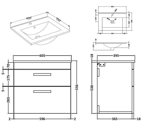 Technical drawing QS-V42358 / ATH048B