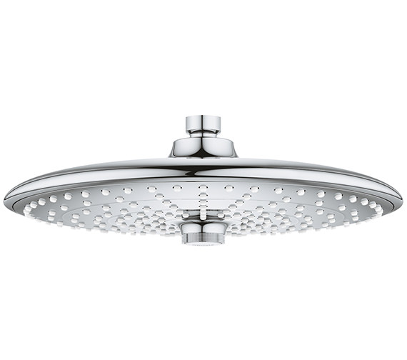 Grohe Euphoria 260mm 3 Spray Chrome Shower Head