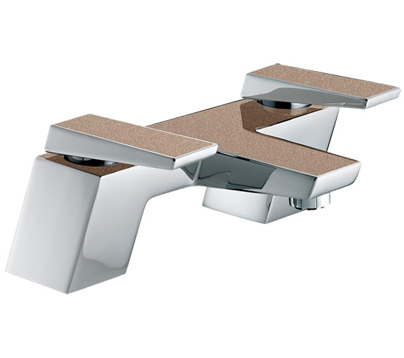 Bristan Metallix Sail Copper Radiance Bath Filler Tap