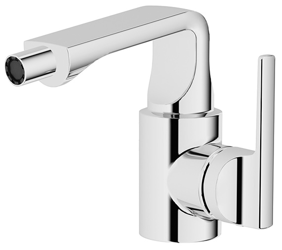 VitrA Suit U Chrome Bidet Mixer Tap With Pop Up Waste Chrome