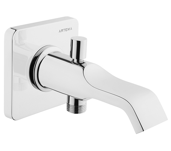 VitrA Suit U Wall Mounted Bath Spout With Handshower Outlet Chrome